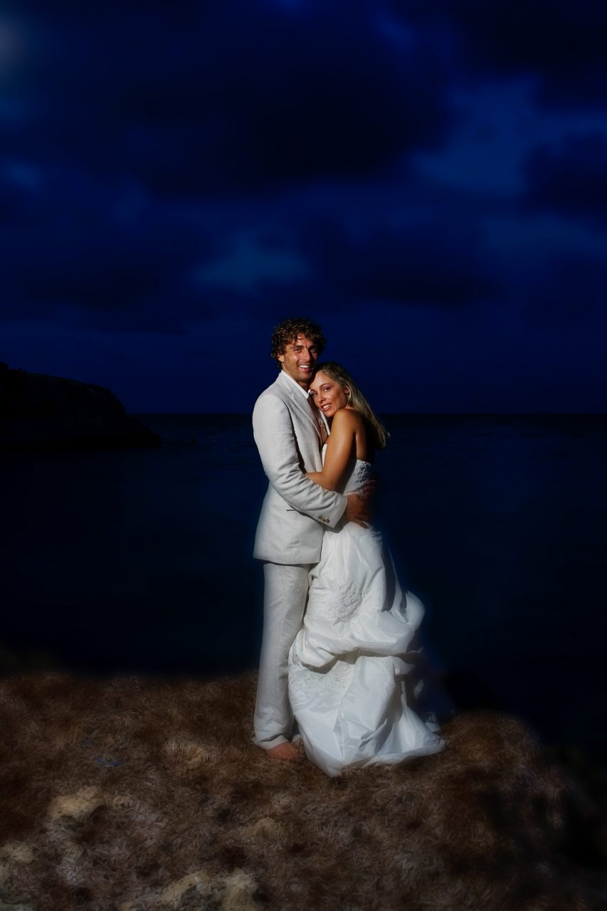 Example Bride and Groom First Look
