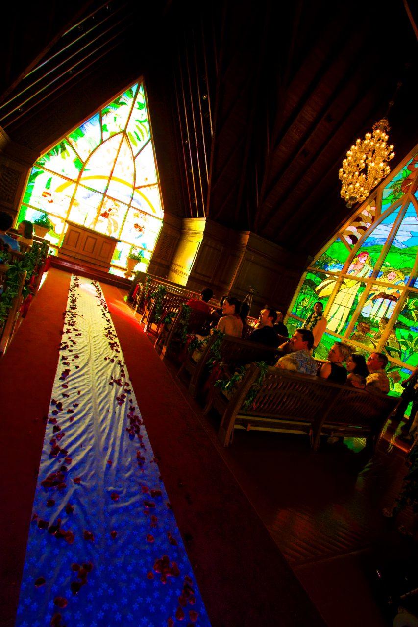 Maui Church Wedding