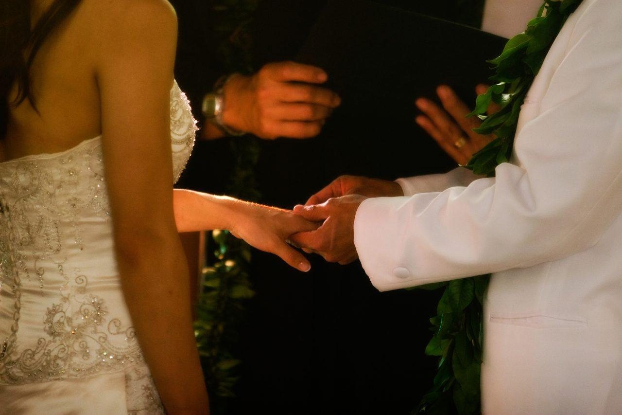 Exchanging Wedding Bands